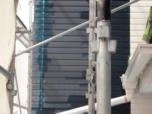 2014年3月19日 栄区公田町:外壁中塗り