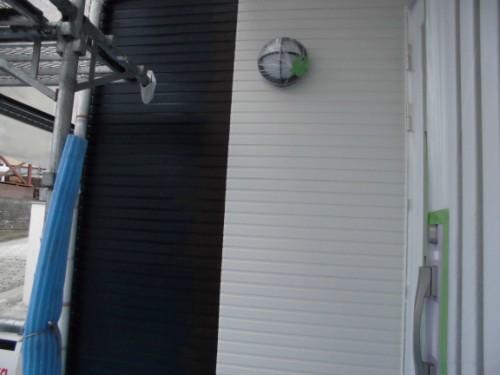 2014年3月19日 栄区公田町:上塗り完了の外壁4