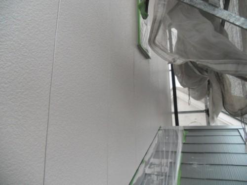旭区鶴ヶ峰本町:外壁中塗り2
