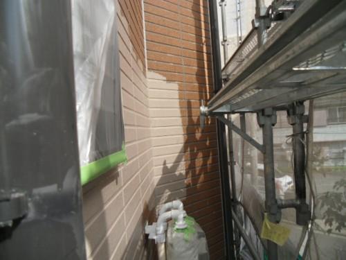 旭区鶴ヶ峰本町:1階外壁中塗り2