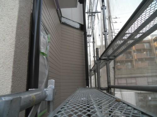 旭区鶴ヶ峰本町:1階外壁中塗り完了2
