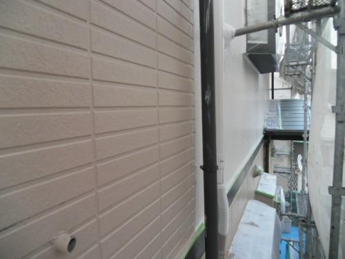 旭区鶴ヶ峰本町:1階外壁中塗り完了3