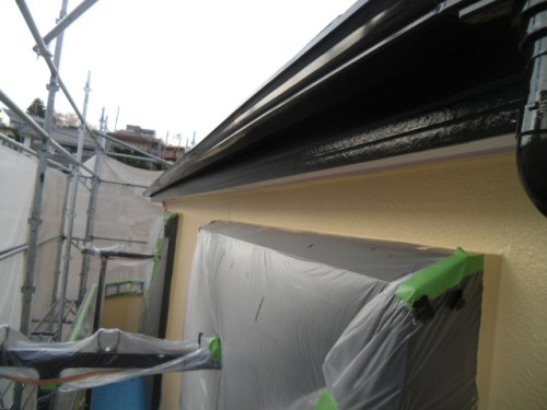 旭区鶴ヶ峰本町:外壁塗装完了2