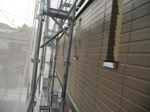 旭区鶴ヶ峰本町:1階外壁上塗り後2