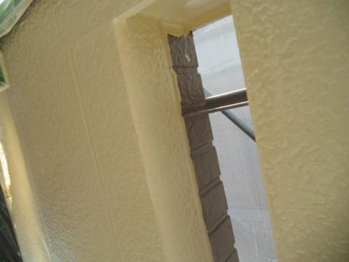 横浜市旭区:壁塗り分け部のはみ出し