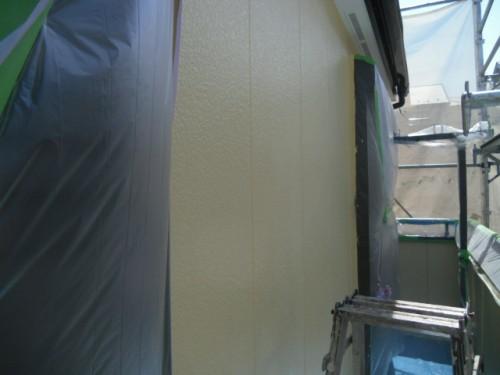 横浜市旭区:外壁仕上げ完了