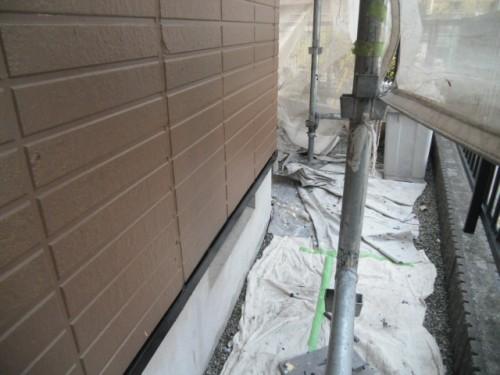 横浜市旭区:水切り塗装後