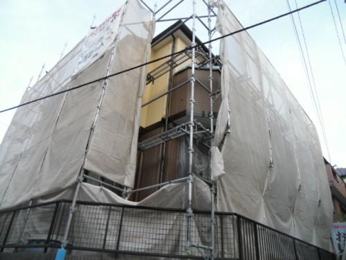 横浜市旭区:現場の外観