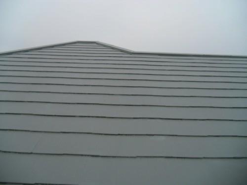 横浜市旭区:屋根縁切り部タッチアップ