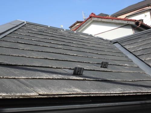 横浜市保土ヶ谷区:洗浄後の屋根