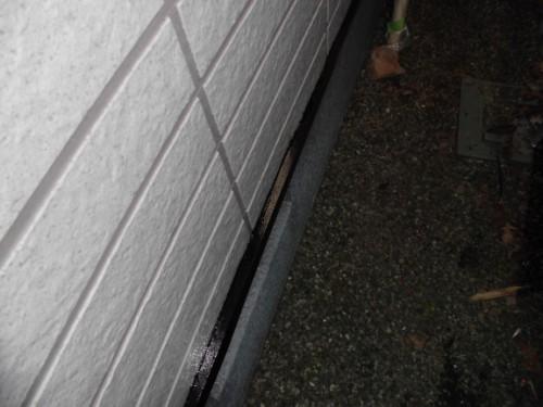 横浜市保土ヶ谷区:水切り中塗り