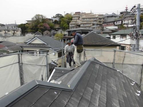 横浜市保土ヶ谷区:屋根大工工事