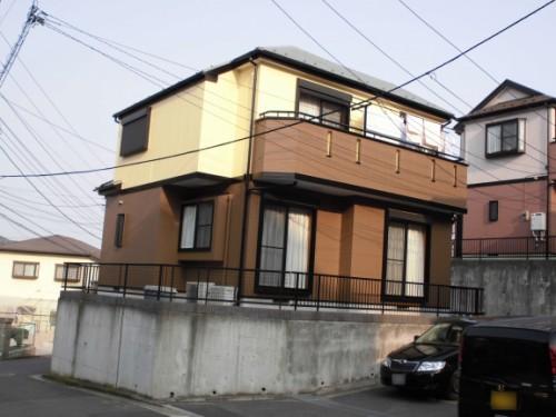 横浜市旭区:塗装完了後の外観
