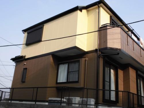 横浜市旭区:塗装完了後の外観2