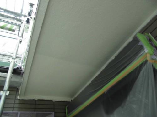 横浜市保土ヶ谷区:軒上塗り