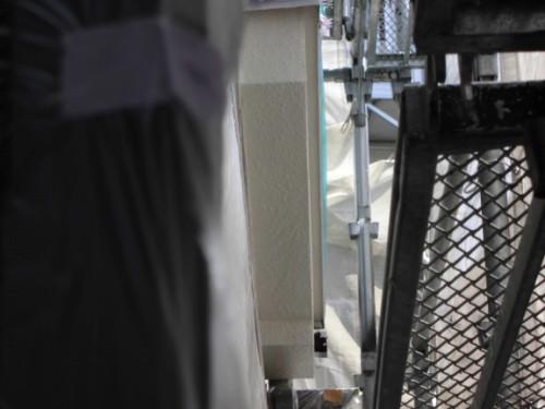 横浜市保土ヶ谷区:軒・破風上塗り完了