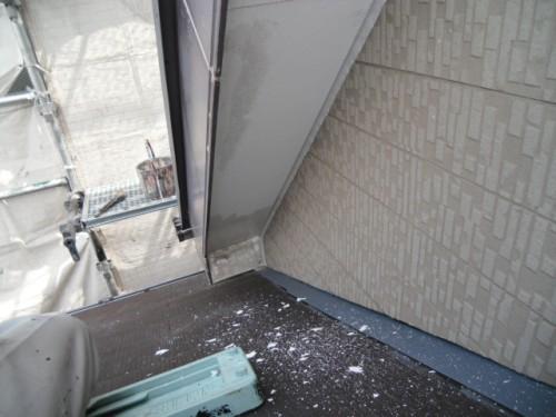 横須賀市久里浜:軒のケレン2