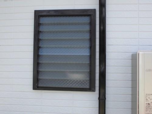 横浜市保土ヶ谷区:足場解体後の窓と樋
