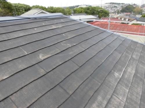 横浜市旭区:屋根シーラー塗布