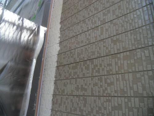 横須賀市久里浜:外壁中塗り