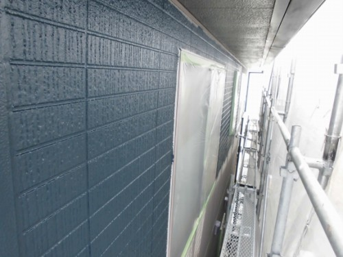 横浜市旭区:外壁中塗り完了