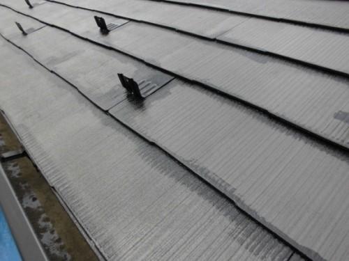 横浜市旭区:屋根上塗りダメ込み2