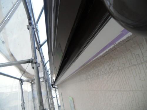 横須賀市久里浜:雨樋塗装後