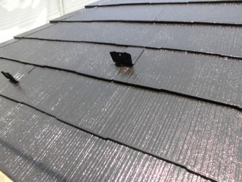 横浜市旭区:屋根上塗り完了後2