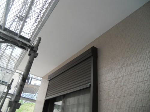 横須賀市久里浜:シャッターBox塗装後