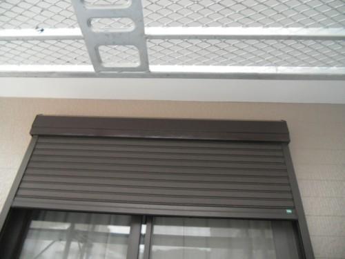 横須賀市久里浜:シャッターBox塗装後2
