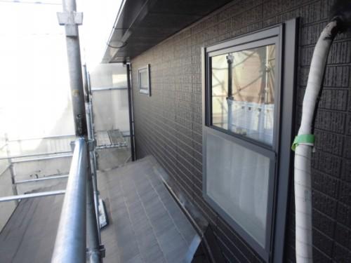 横浜市旭区:外壁上塗り完了後2