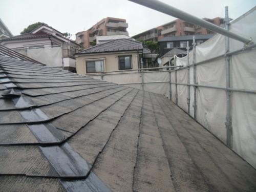 横浜市磯子区:屋根洗浄後2