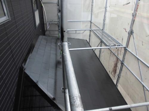 横浜市旭区:下屋根塗装後