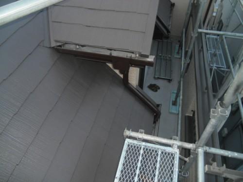 横須賀市久里浜:下屋根塗装後