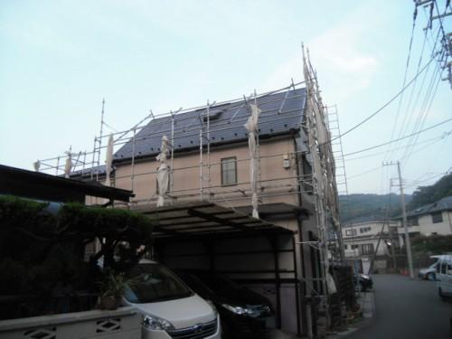 横須賀市久里浜:塗装後の外観