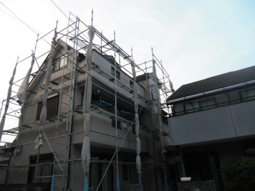 横須賀市久里浜:塗装後の外観2