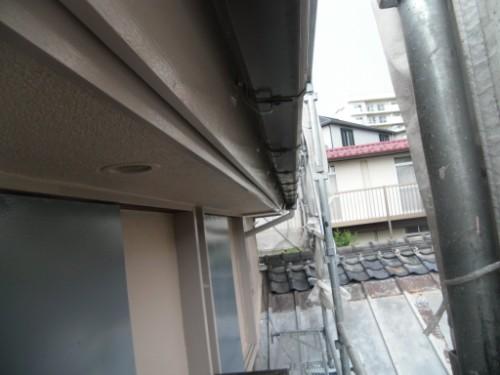 横浜市磯子区:破風上塗り後2