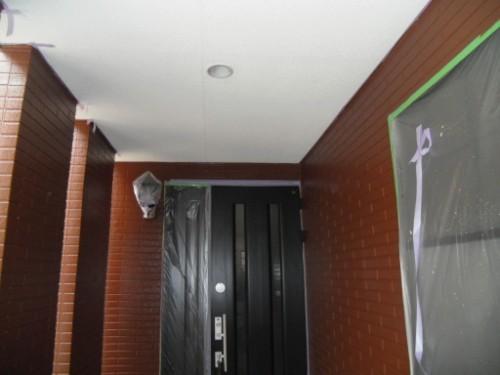 横浜市保土ヶ谷区:軒、壁仕上げ後