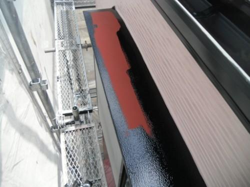 横浜市保土ヶ谷区:庇塗装