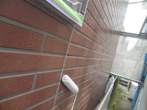 横浜市保土ヶ谷区:外壁上塗り