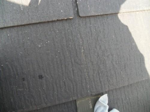 横浜市金沢区:屋根材ひび割れ