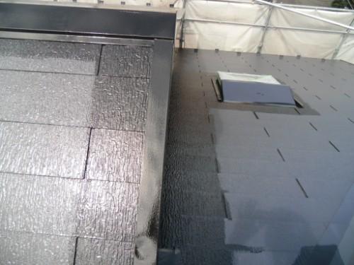 横浜市金沢区:屋根上塗りダメ込み