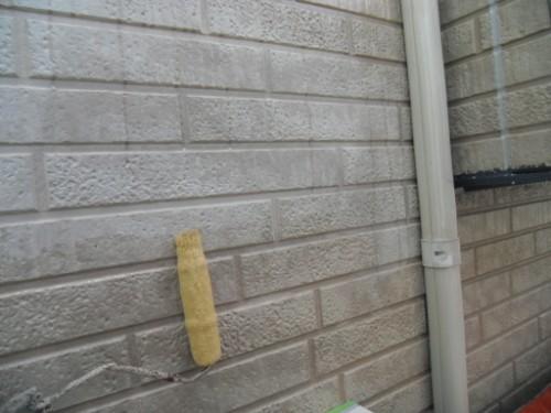 横浜市金沢区:外壁下塗り