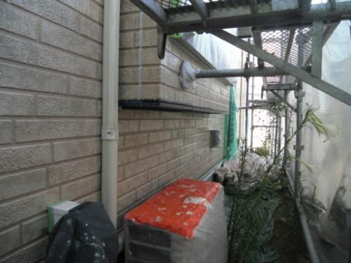 横浜市金沢区:外壁下塗り後