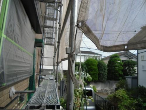 横浜市金沢区:シート張り後