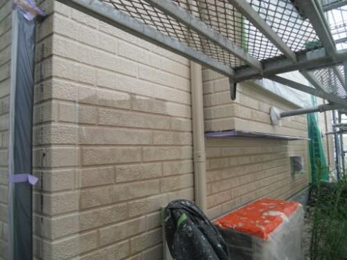 横浜市金沢区:サイディング外壁中塗り