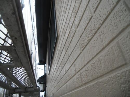 横浜市金沢区:外壁上塗り後
