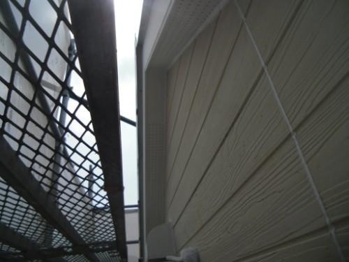 逗子市桜山:軒中塗り後