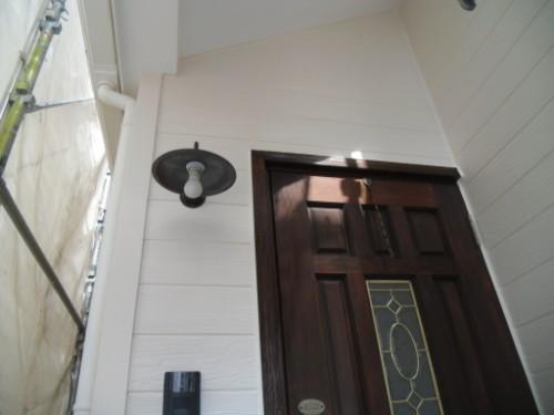 逗子市桜山:外壁上塗り後