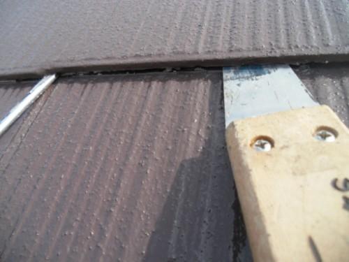 逗子市桜山:屋根縁切り
